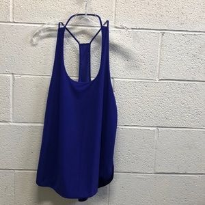 Lululemon purple tank, sz 8, 63617